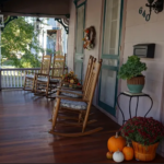 Porch at the Blake House