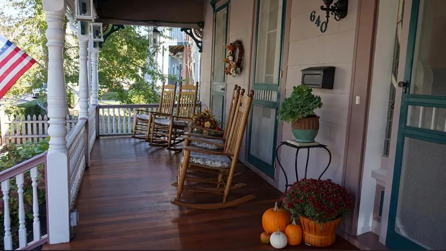 Porch at the Blake House